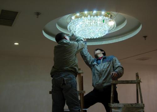 灯具安装方法